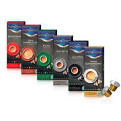 MOVENPICK - Pack 60 Cápsulas Café Mix Mvenpick Incluye Decaf