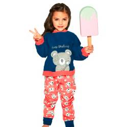 Lady Genny - Pijama Niña Micropolar Kids