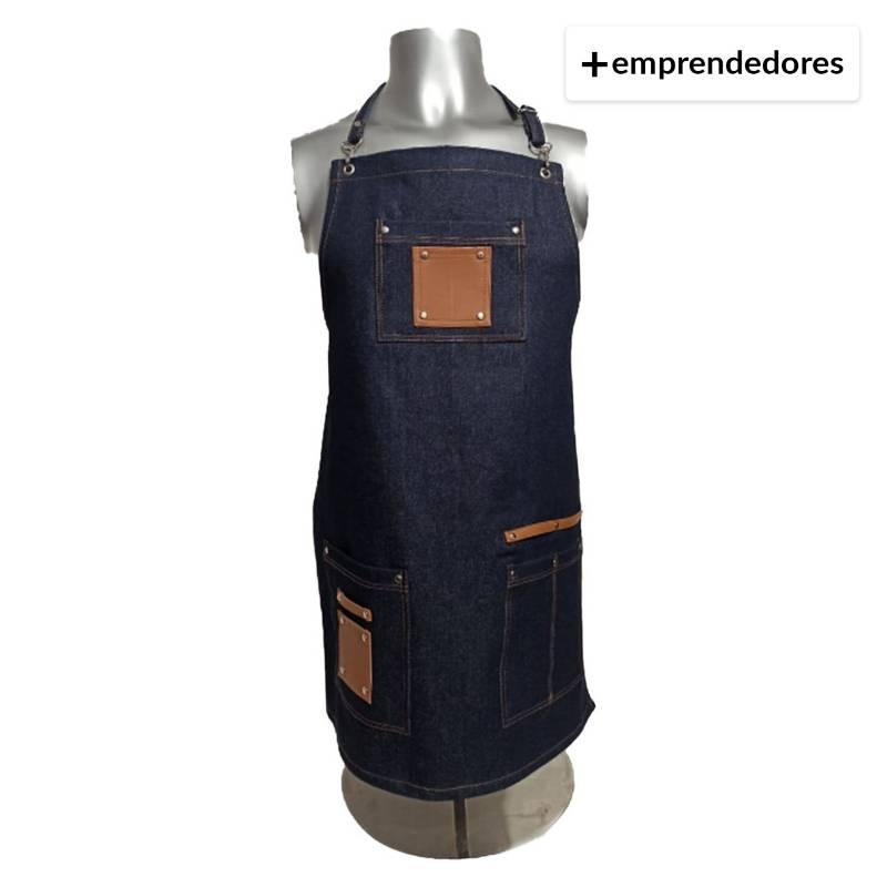 MUNDO TEXTIL CL - Pechera Jeans Multiuso Talla S