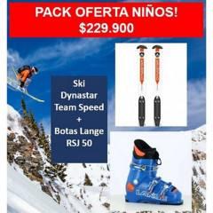 DYNASTAR - Pack Niños Ski FijacionesBotas