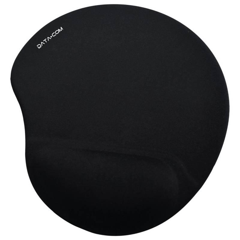 DATACOM - Mousepad Memory Foam Negro