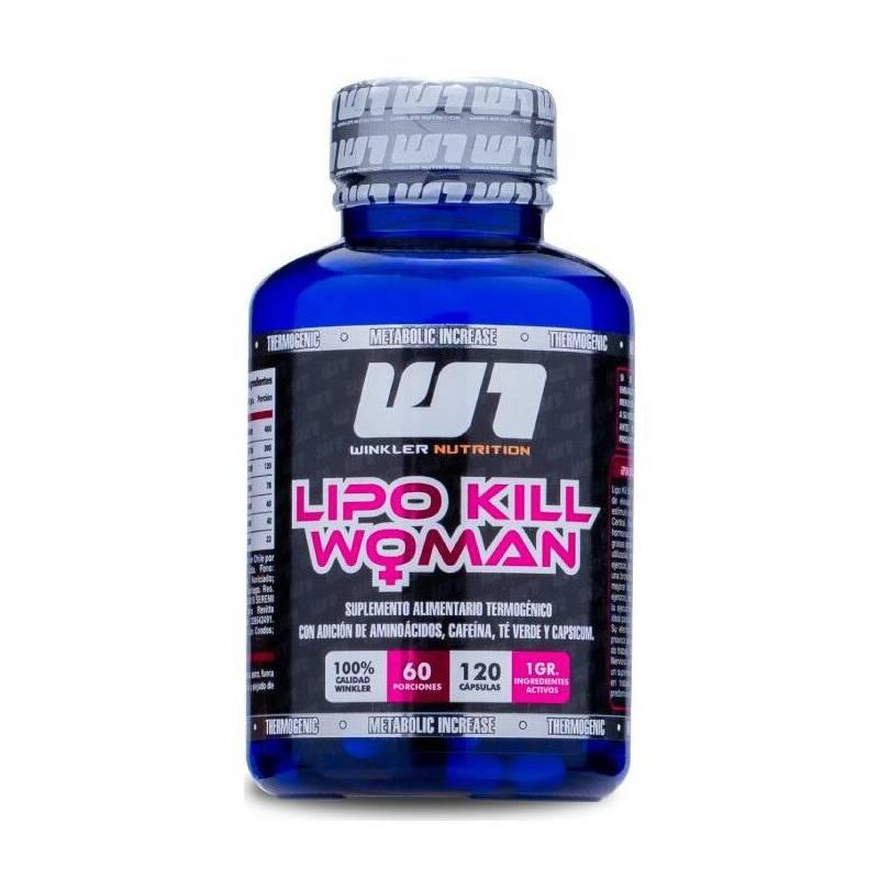WINKLER NUTRITION - Termogénico Lipo Kill Mujer 120 Capsulas