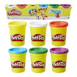 Play Doh - Masas Pack 6 Colores 672Grs