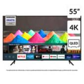 "Samsung - QLED 55"" Q60T 4K UHD Smart TV 2020"