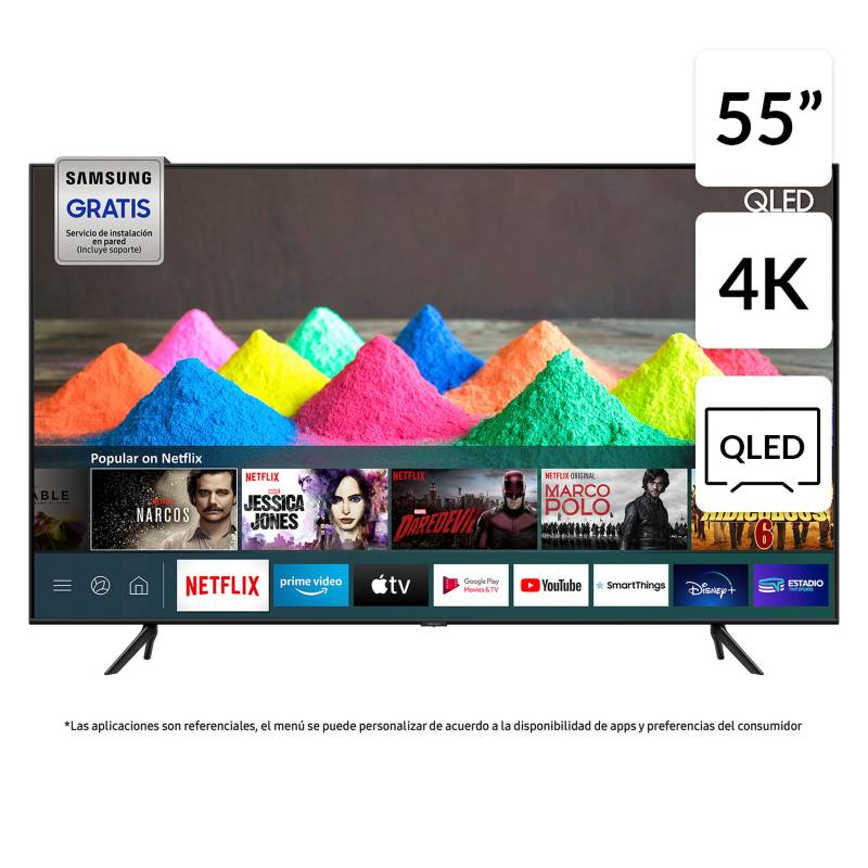 "SAMSUNG - QLED 55"" Q60T UHD 4K Smart TV"