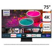 "SAMSUNG - QLED 75"" Q90T 4K UHD SMART TV"