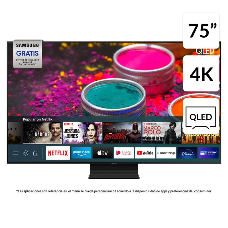 "QLED 75"" Q90T 4K UHD Smart TV 2020"