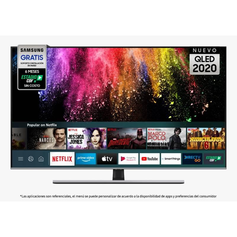 """SAMSUNG - QLED 65"""" QN65Q70TAGXZS 4K Ultra HD Smart TV"""