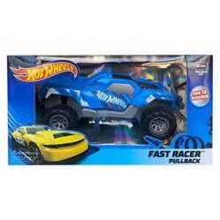 HOTWHEELS - Auto Juguete Azul Niño Hot Wheels Friccion 13 Cm