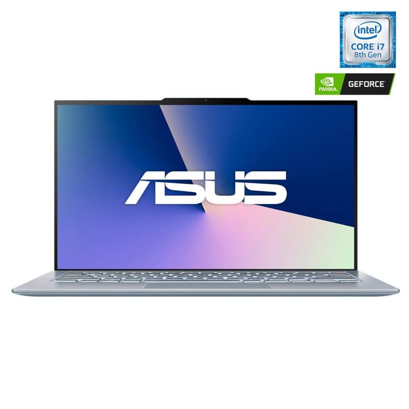 "Asus - Notebook ZenBook UX392FN Intel Core i7-8565U 8GB RAM 512GB SSD NVIDIA GeForce MX150 14"""