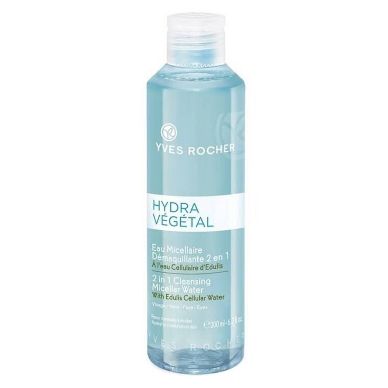 YVES ROCHER - Agua Micelar Hidratante 2 en 1 Hydra Vegetal