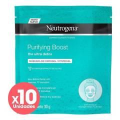 Neutrogena - Pack Máscaras Purified X10 Unidades