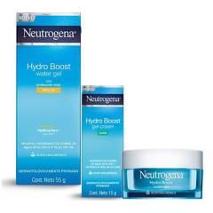 Neutrogena - Pack Crema y Gel Hydroboost X3 Unidades