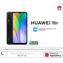 Huawei - Smartphone Y6P Negro 64GB