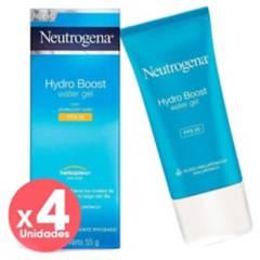 Neutrogena - Pack Gel Hidratante Hydroboost Fps25 Neutrogena X4