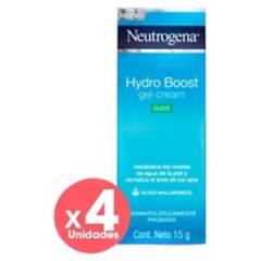 Neutrogena - Pack Hydroboost Contorno de Ojos Neutrogena X4