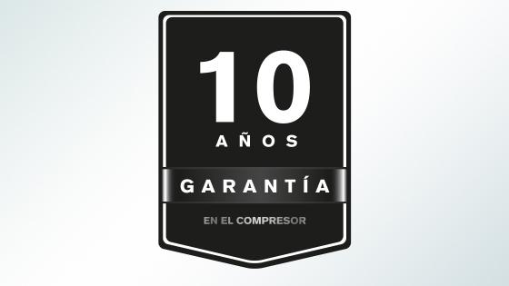 10 Años de Garantía en tu compresor