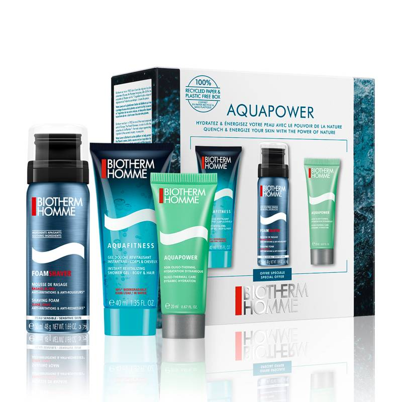 Biotherm - Set Gel Aquapower Travel Size Biotherm Homme