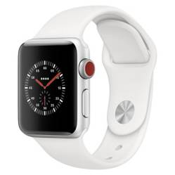 Apple - Apple Watch MOVS3 38SIL CEL