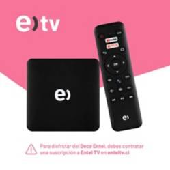Entel - Deco Android TV 4K Entel Sagemcom