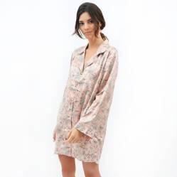 Lounge - Camisa Dormir Mujer Jungle Pink