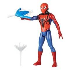 SPIDER MAN - Figura De Acción Spiderman Titan Heroeblast Gear Spiderman