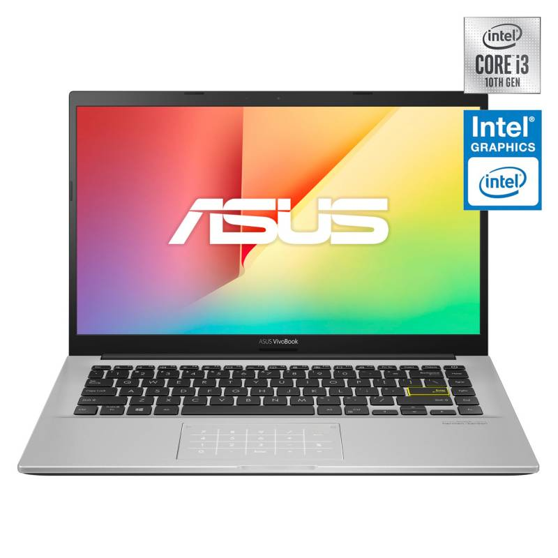 Asus - Notebook VivoBook X413FA Intel Core i3-10110U 4GB RAM 128GB SSD 14""