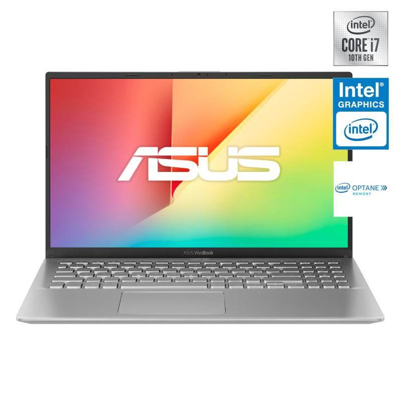 "Asus - Notebook VivoBook X512JA Intel Core i7-1065G7 8GB RAM + 32GB Intel Optane 512GB SSD 15.6"""