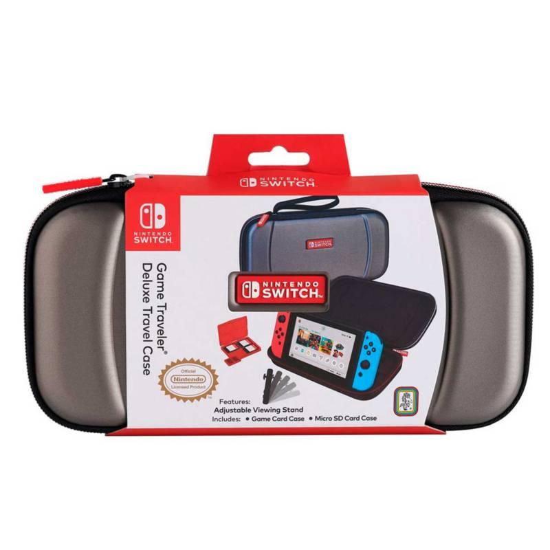 NINTENDO - Nintendo Switch Game Traveller Titanium Case