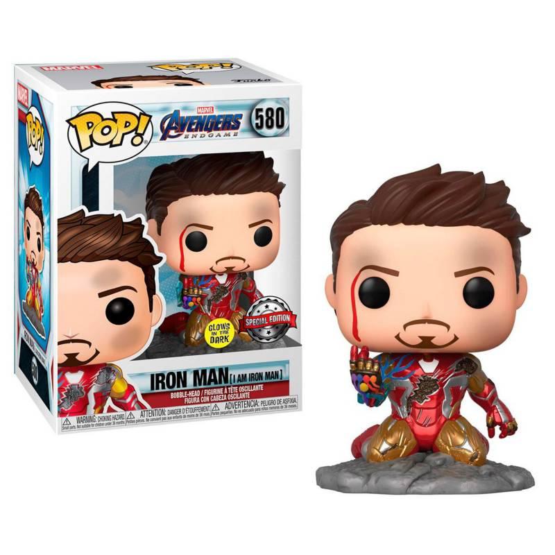 Funko - Funko Pop Marvel Tony Stark Im Iron Man Edicion Sp