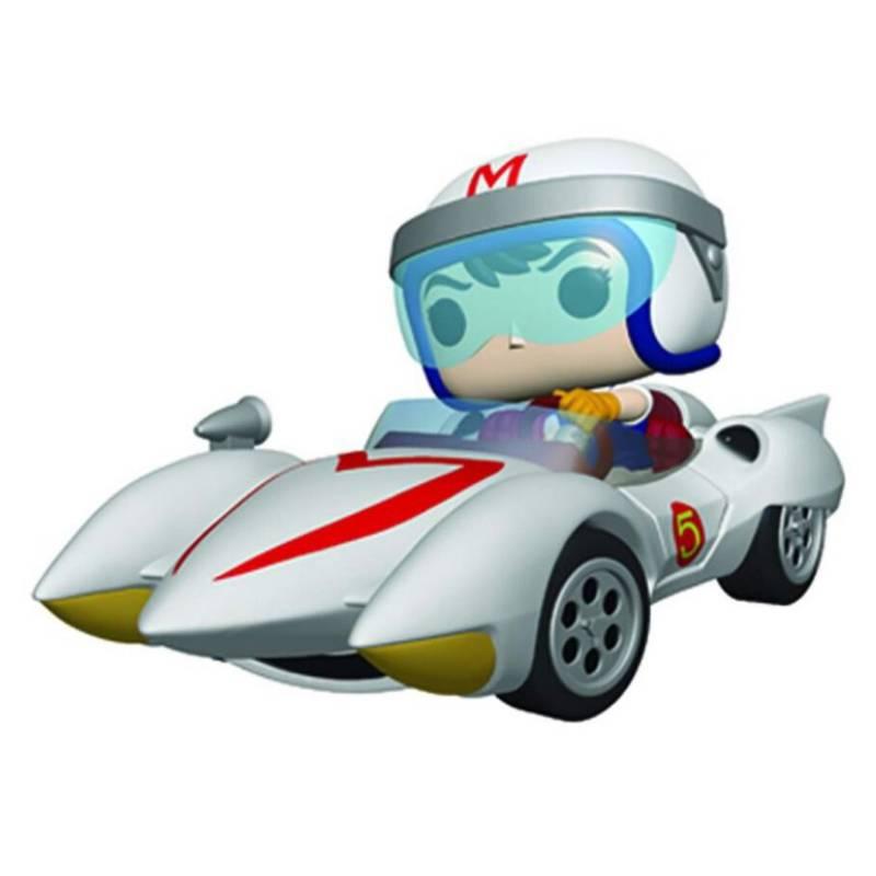 Funko - Pop Ride Speed Racer Speed With Mach 5