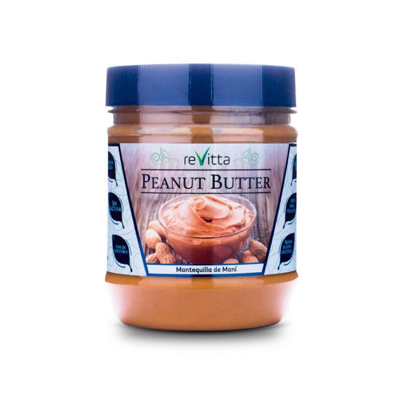 REVITTA WELLNESS - Mantequilla de Maní Peanut Butter 500 Grs.
