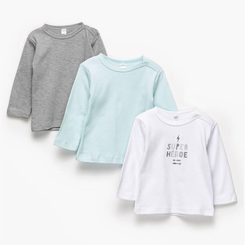 Yamp - Pack de 3 Camisetas Niño