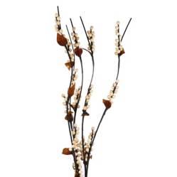 Sohogar - Set 5 Varas Artificiales  Flor Pelotitas  150 Cm
