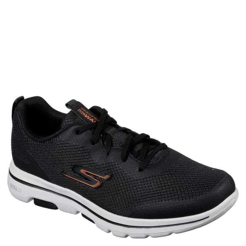 Go Walk 5 - Squall Negro Zapatilla Urbana Hombre