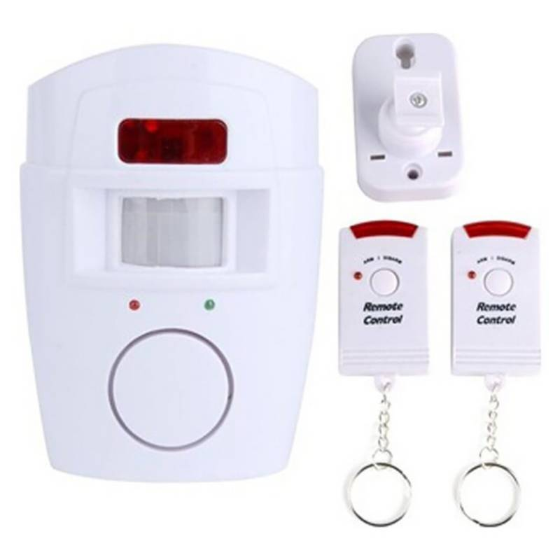 Generica - Alarma Casa Inalambrica Sensor Movimiento Control