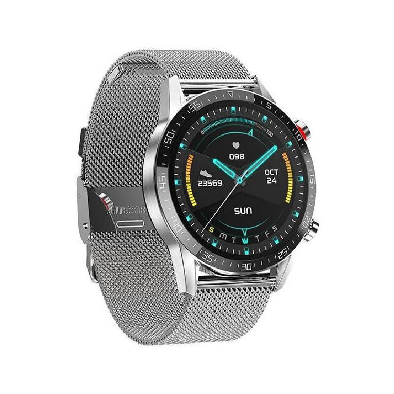 COMPRAPO - Reloj Inteligente Smartwatch L13 Silver Metal