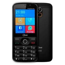 MLAB - Teléfono Senior Adulto Mayor Touch 3G Mlab Negro