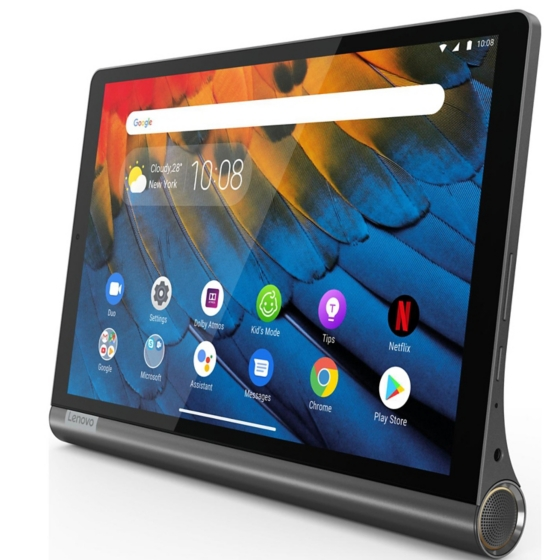 Tablet Lenovo Yoga Smart Tab uso lifestyle