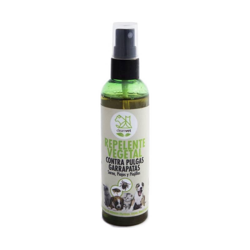 CLEANVET - Antiparasitario Base Vegetal Cleanvet Spray 120 Ml