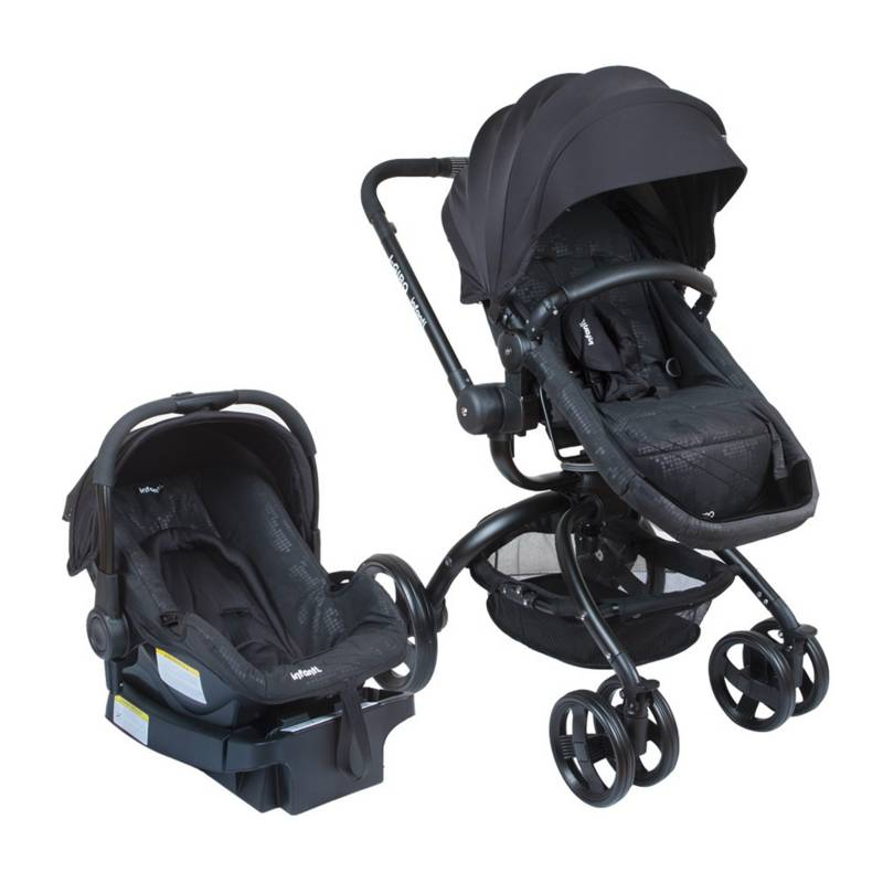 INFANTI - Coche Travel System I-Giro Bright Black