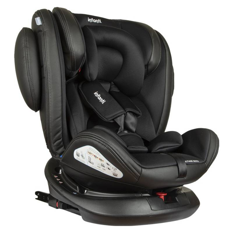 INFANTI - SILLA DE AUTO CONVERTIBLE MULTIAGE BLACK