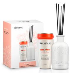 KERASTASE - Set Shampoo Bain Satin 1 250 ml + Fragancia Nutritive Kérastase