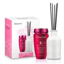 KERASTASE - Set Shampoo Bain Chromatique Rich 250 ml + Fragancia Reflection Kérastase