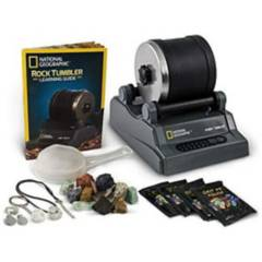 NATIONAL  GEOGRAPHIC - Kit Mineralogía Rock Tumbler National Geographic