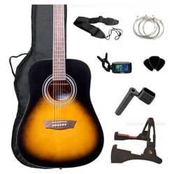 Washburn - Pack de Guitarra Acustica Gwl George Washburn Limi