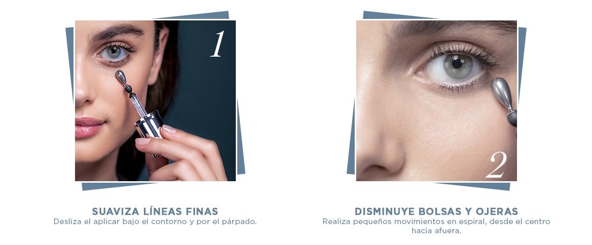 genifique, serum, antiedad, arrugas; contorno; set; light pearl; advanced