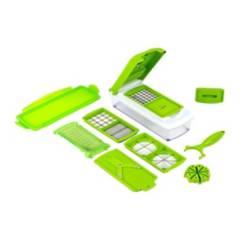 GENERICA - Picador Cortador de Verduras Multifuncional  Verde