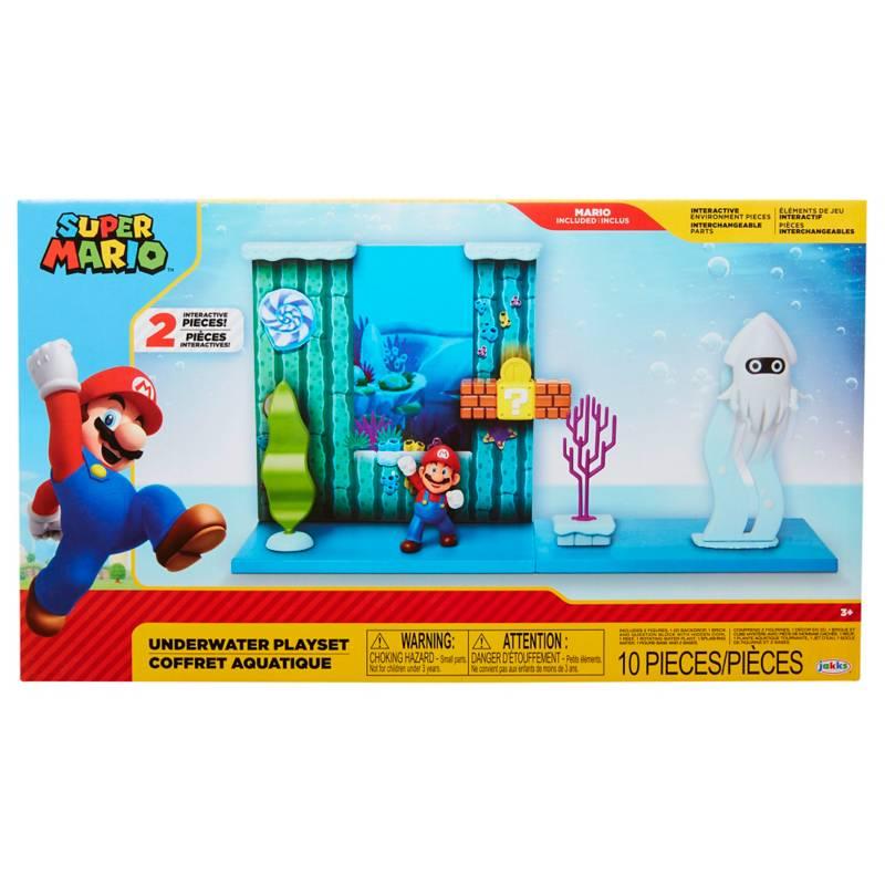 NINTENDO - Nintendo Set Escena Batalla Bajo el Agua Super Mario