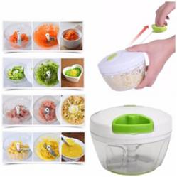 Generico - Manual Pull Food Chopper Cutter Slicer Peeler Cut